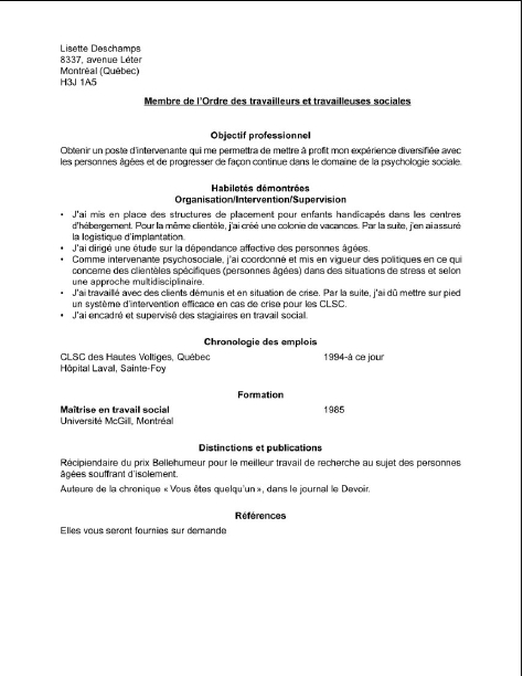 l u2019 u00e9laboration du curriculum vit u00e6  par o u00f9 commencer